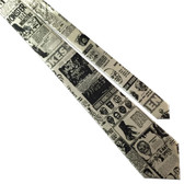 Comic Book Novelties Vintage Monster Retro Graphic Men's Tie