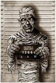 Halloween Monster Mummy Mugshot by Marcus Jones Screaming Demons Fine Tattoo Art Print
