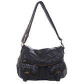 The Annabell Messenger Black Purse Cross Body Bag