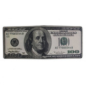 Men's Bi-Fold Wallet 100 Dollar Bill