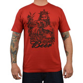 Beer King Annex Clothing Men's Tee Shirt