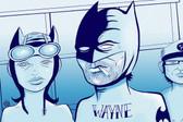 Wayne & Company Batman by Tom Vadakan Tattoo Fine Art Print