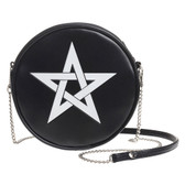 Alchemy Gothic Pentagram Star Shoulder Bag Faux Leather Purse GB2