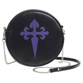 Alchemy Gothic Purple Cross Shoulder Bag Faux Leather Purse GB4