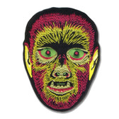 Electric Werewolf Monster Patch Embroidered Iron On Applique