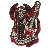 Sol Rac Psyco Forever Monster Patch Embroidered Iron On Applique