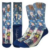 Men's Crew Socks Past United States Presidents
