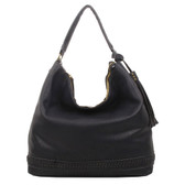 The Aida Tote Hobo Black Purse Shoulder Bag Tote