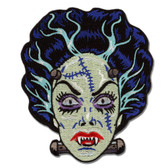 Nightmare Bride of Frankenstein Monster Patch Embroidered Iron On Applique