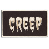 Creep Retro Patch Embroidered Iron On Applique
