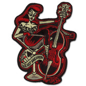 Sol Rac Heart Breaker Pin Up Girl Patch Embroidered Iron On Applique