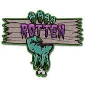 Rotten Monster Patch Embroidered Iron On Applique
