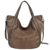 The Daphne Brown Purse Bohemian Tote Crossbody Shoulder Bag