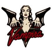 Vampira Enamel Pin Dark Goddess Collectible