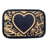 Heart belt buckle by Buckle-Down.