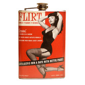 Bettie Page Flirt Flask