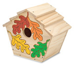 Melissa and Doug - Build-Your-Own Wooden Birdhouse