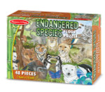 Melissa and Doug - Endangered Species Floor Puzzle