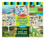 Melissa and Doug - Reusable Sticker Pad - Habitats