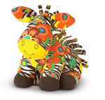 Melissa and Doug - Beeposh Zelda Zebra Stuffed Animal