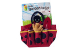 Ladybug Garden Tote with Tools for Children