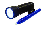 Geocaching for Kids - Geomate Spy UV NightCaching Kit UV Flashlight and UV Pen Kit