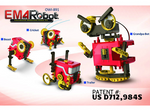 EM4 Educational Motorized Robot Kit - Build Your Own Robots OWI-891