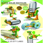 Super Solar Recycler Science Kit OWI-MSK616