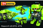 T4 Transforming Solar Robot Science Kit