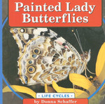Painted Lady Butterflies Life Cycle Book