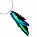 Real Beetle Wing Necklace
