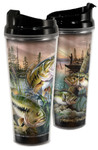 Largemouth Bass Acrylic 24 oz. Travel Mug