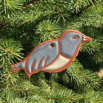 Terracotta Bird Ornament
