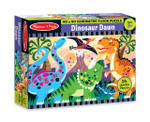 Melissa and Doug - Dinosaur Dawn Floor Puzzle - 24 Pieces