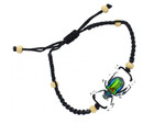 Colorful Real Scarab Beetle Bracelet