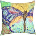 Boho Butterfly Pillow