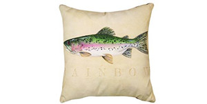 Rainbow Trout Pillow