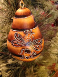 Bee Mini Gourd Ornament