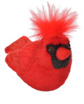 Audubon II Northern Cardinal Plush Bird