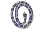 "Blue Rock Rubber Snake - 42"" 20772"