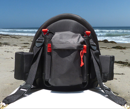 Pacific angler fishing kayak seat danuu paddle gear for Kayak fishing seats