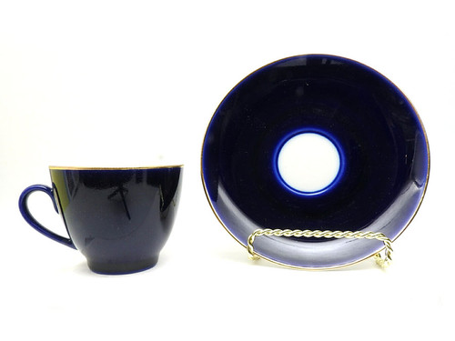 Night Coffee Cup and Saucer