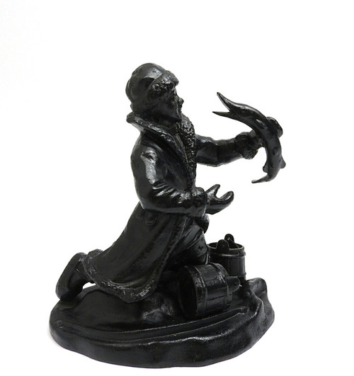 "Kasli Cast Iron FIgure ""Magic Pike"""