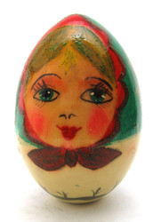 Easter Egg Winter Maiden (Зимняя девочка) front view