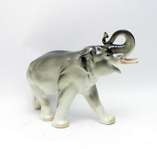 Gray Elephant Lomonosov Porcelain