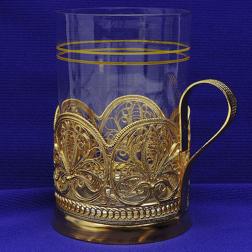 Anna Russian Tea Glass at The Russian Shop
