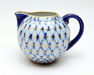Vintage Cobalt Net Creamer