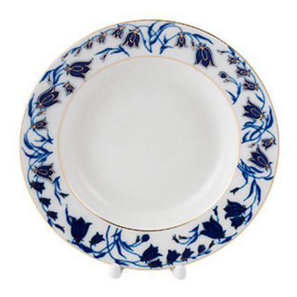 Bluebells Shallow Soup Bowl