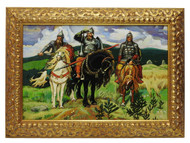 The Three Bogatyrs genuine Russian painting