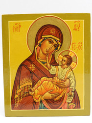 Touching Mother of God Icon